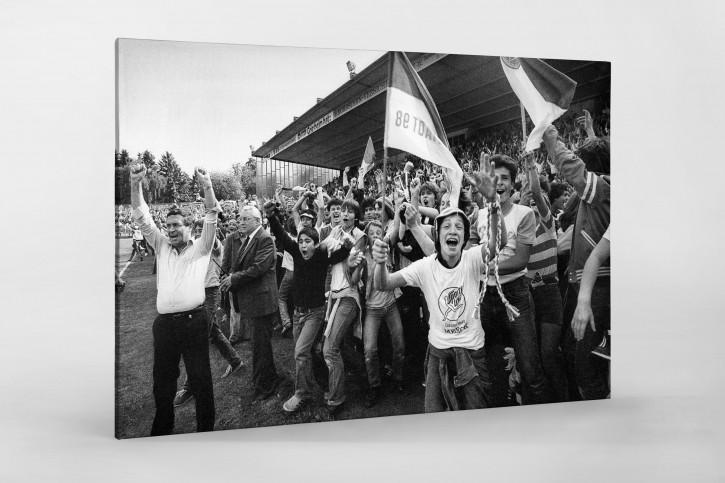 Darmstadt feiert den Aufstieg 1981