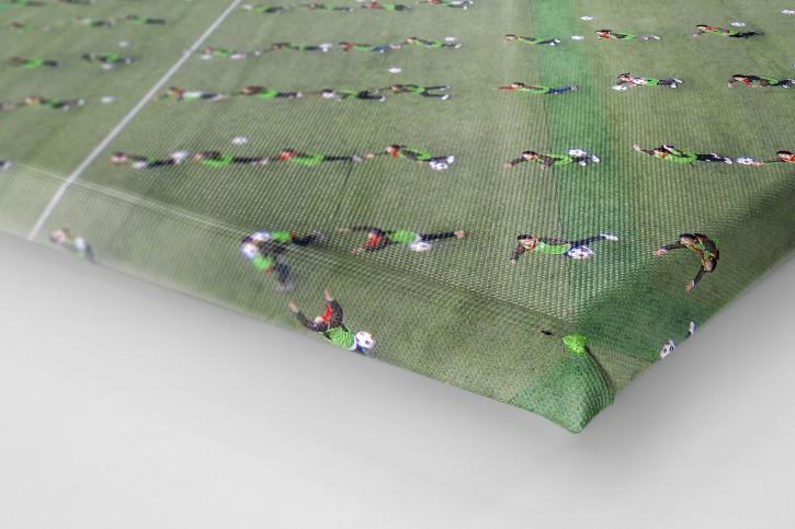 Grundschulfußball in China - Wandbild