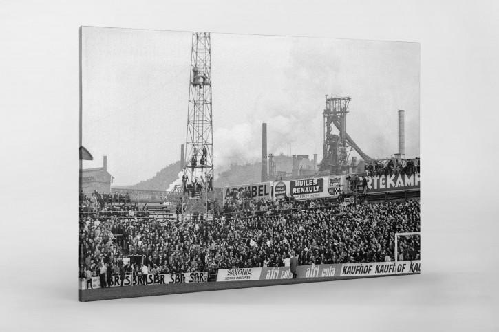 Europapokal in Lüttich - Wandbild Standard Lüttich vs. Bayern München 1967