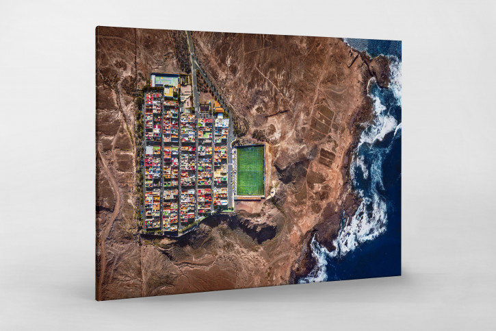 Fußballplatz auf Gran Canaria - Foto Sébastien Nagy - Wandbild