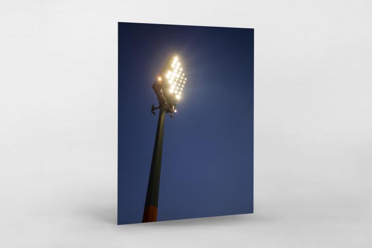 Flutlichtmast am Böllenfalltor - Darmstadt 98 Foto als Wandbild