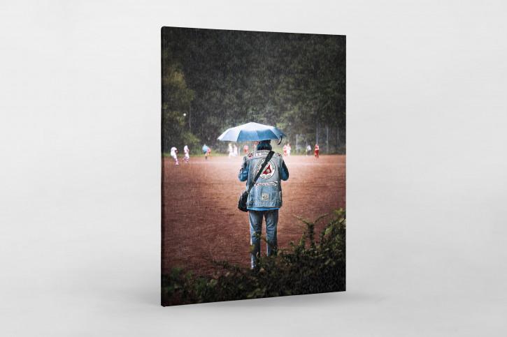 Altona-Fan im Regen - Foto Fußballfan Titel Cover 11FREUNDE Ausgabe #155