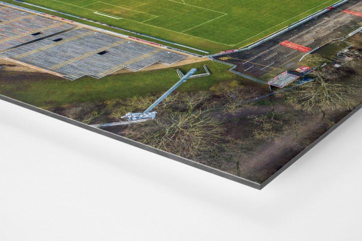Vogelperspektive auf den Sportpark Höhenberg - Viktoria Köln Wandbild