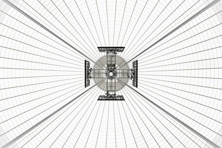 Dachkonstruktion im Nationalstadion Warschau - 11FREUNDE BILDERWELT