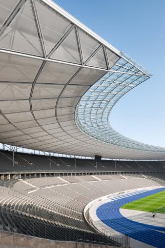 Kurve Olympiastadion - Fußball Wandbild - 11FREUNDE SHOP