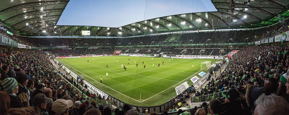 Wolfsburg (2015) - Stadionfoto als Wandbild - 11FREUNDE SHOP