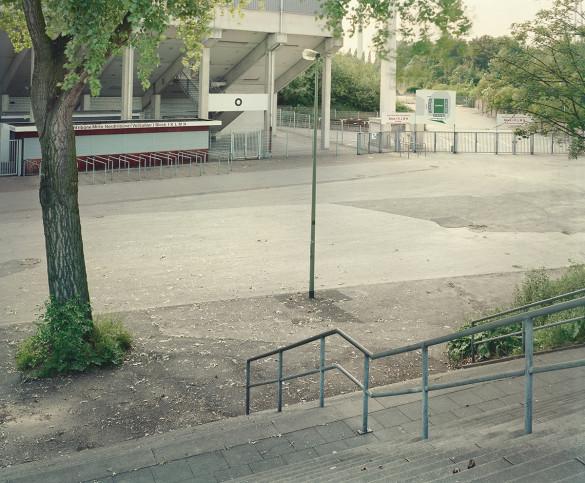 Witness Of Glory Times: Essen - Markus Wendler - Stadion Foto als Wandbild