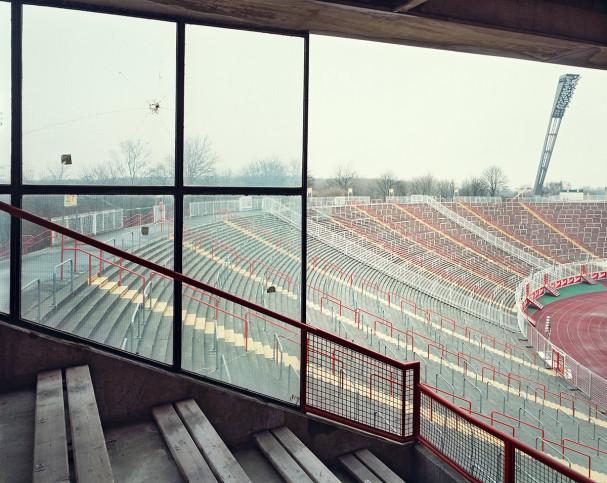 Witness of Glory Times: Hamburg (5) - Markus Wendler - Stadion Foto als Wandbild