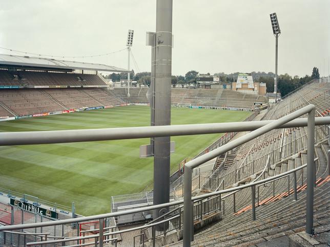 Witness of Glory Times: Mönchengladbach (1) - Markus Wendler - Stadion Foto als Wandbild