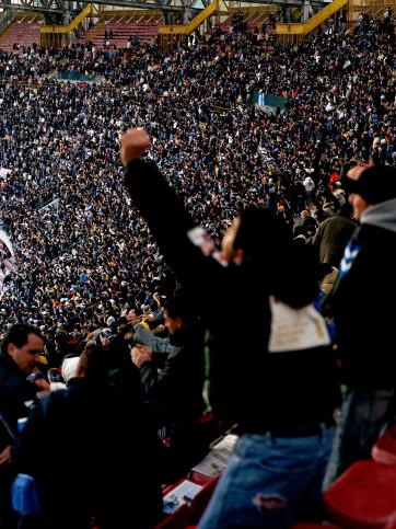 Fankurve SSC Neapel - 11FREUNDE BILDERWELT