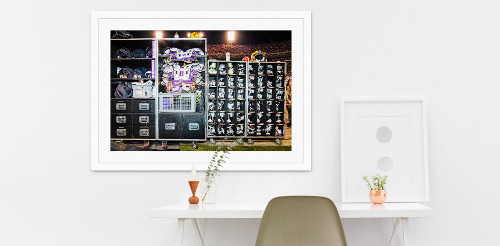 Ausrüstung LSU Tigers - Sport Fotos als Wandbilder - NoSports Magazin - 11FREUNDE Shop