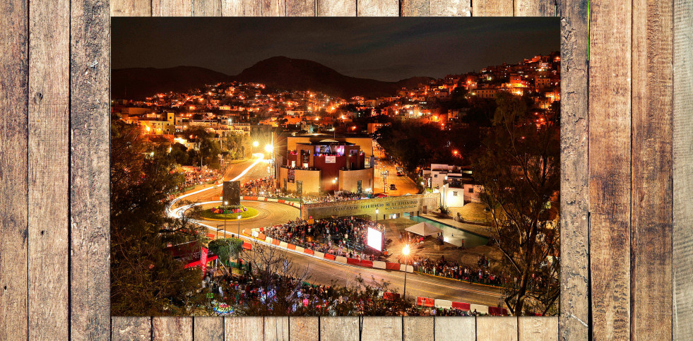 Rallye Mexico (2) - Sport Fotografie als Wandbild - Motorsport Foto - NoSports Magazin