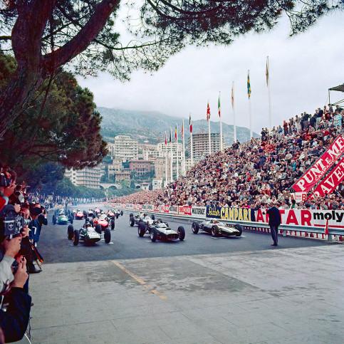 Monaco 1962 - Sport Fotografie als Wandbild - Motorsport Foto - NoSports Magazin - 11FREUNDE SHOP