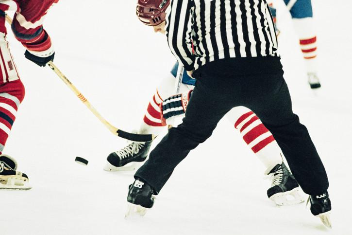 CSSR vs. Kanada 1984 - Sport Fotografie als Wandbild - Eishockey Foto - NoSports Magazin