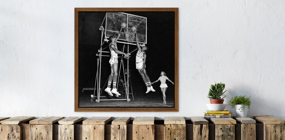 Training der Basketballkünstler - Sport Fotografie als Wandbild - Basketball Foto - NoSports Magazin - 11FREUNDE SHOP