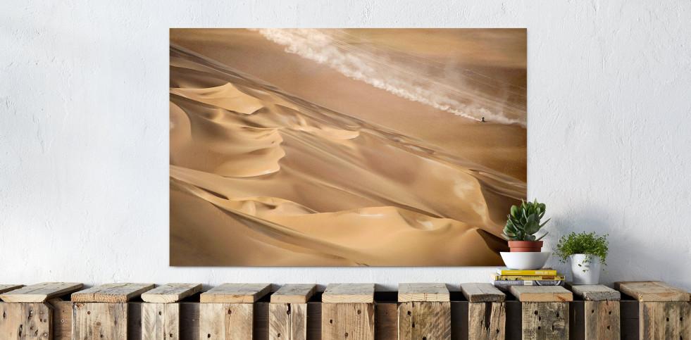 Motorrad im chilenischen Sand (2)  - Sport Fotografien als Wandbilder - Rallye Foto - NoSports Magazin
