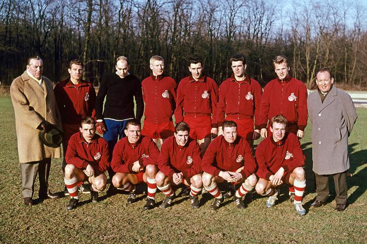 1. FC Köln Mannschaftsfoto 1961/62 - 11FREUNDE BILDERWELT