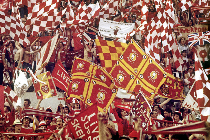 Liverpool Fans 1977 (2) - 11FREUNDE BILDERWELT