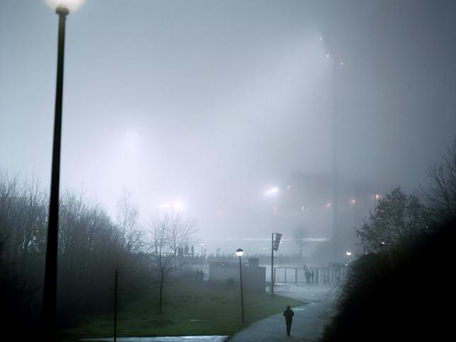 Weg zum Schalker Parkstadion - 11FREUNDE BILDERWELT