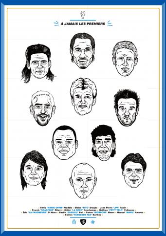 Legendary XI: Marseille - Poster bestellen - 11FREUNDE SHOP