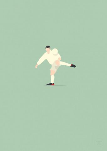 Zinédine - Zidane Poster - 11FREUNDE SHOP