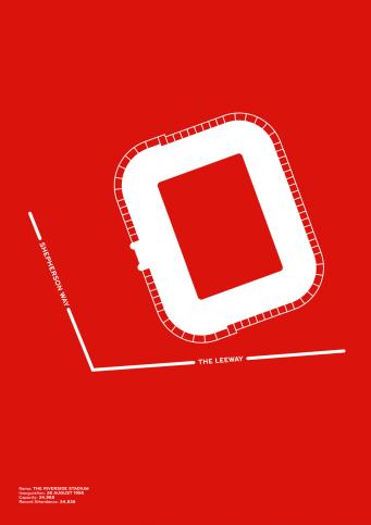 Piktogramm: Middlesbrough - Poster bestellen - 11FREUNDE SHOP