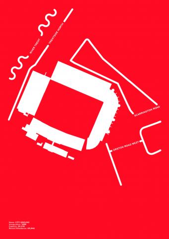Piktogramm: Nottingham - Poster bestellen - 11FREUNDE SHOP