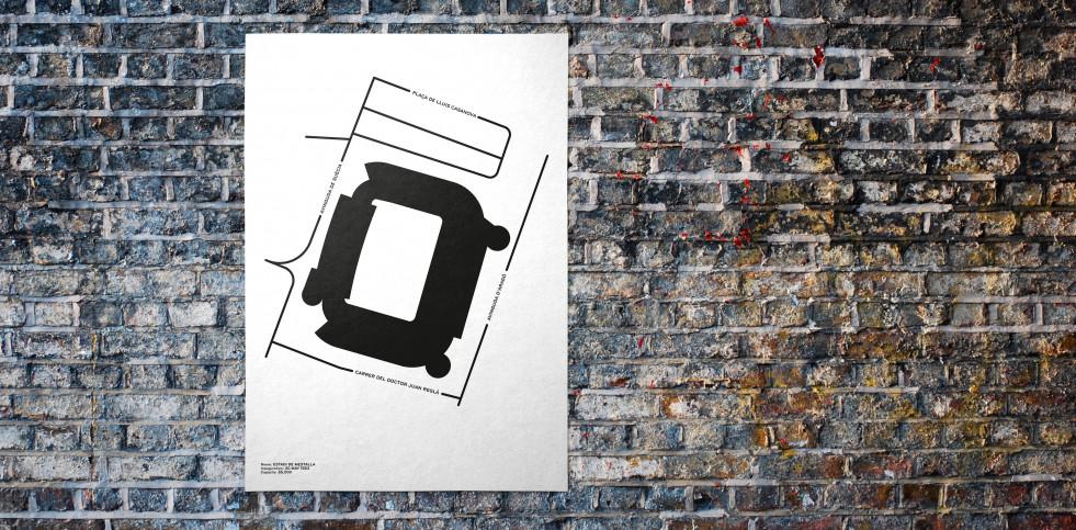 Piktogramm: Valencia - Poster bestellen - 11FREUNDE SHOP