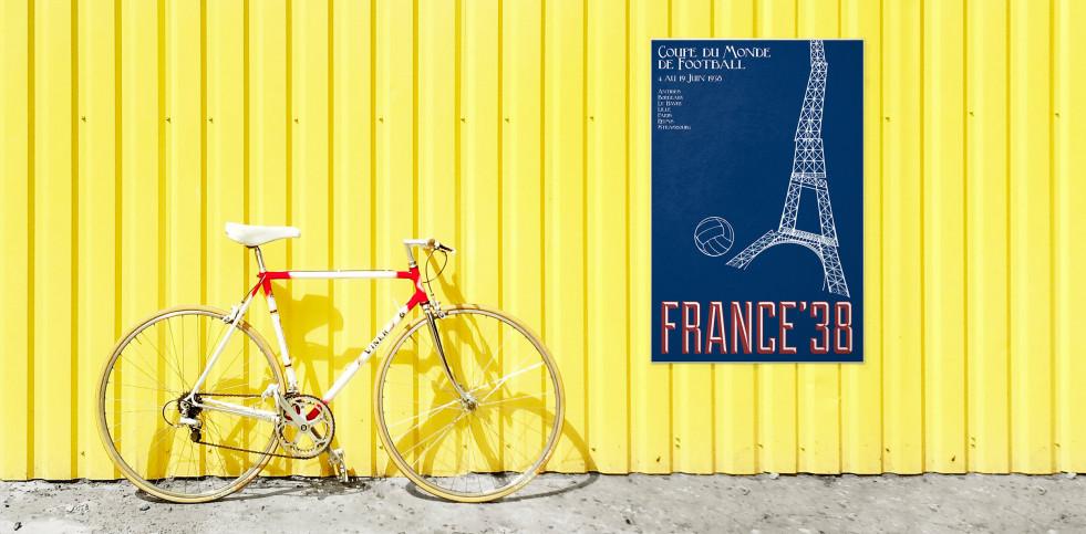 France 1938 - Poster bestellen - 11FREUNDE SHOP