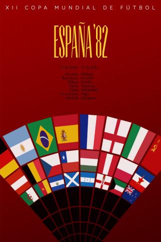 España 1982 - Poster bestellen - 11FREUNDE SHOP