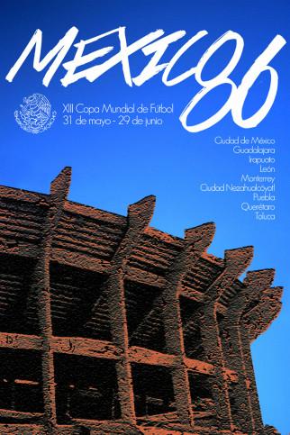 Mexico 1986 - Poster bestellen - 11FREUNDE SHOP
