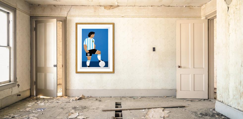 Stanley Chow F.C. - Diego (Argentina) - Poster bestellen - 11FREUNDE SHOP