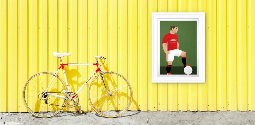 Stanley Chow F.C. - Zlatan - Poster bestellen - 11FREUNDE SHOP