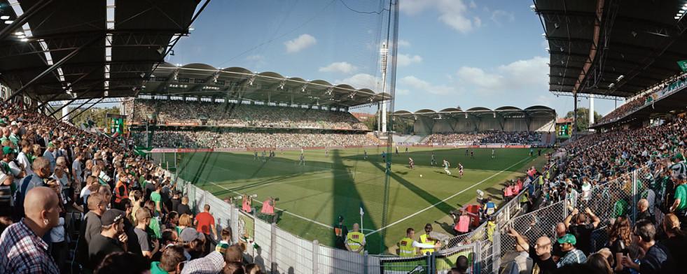 Wien Gerhard-Hanappi Stadion - 11FREUNDE BILDERWELT