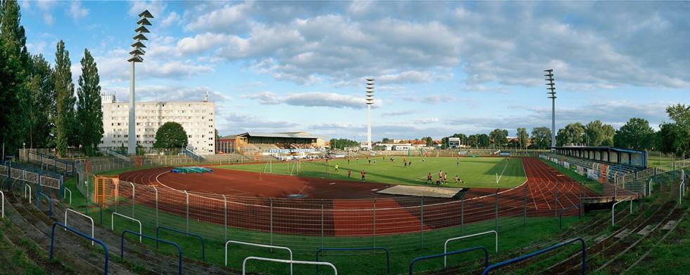 Brandenburg - Stadion Panorama Foto - 11FREUNDE SHOP