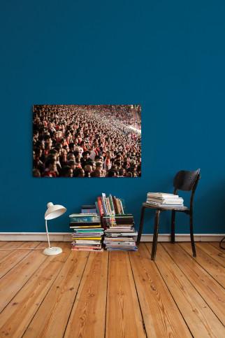 Fankurve Union - 11FREUNDE SHOP - Fußball Foto Wandbild