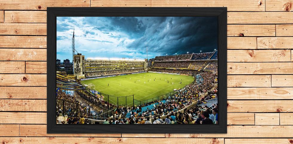La Bombonera der Boca Juniors in Farbe - 11FREUNDE SHOP