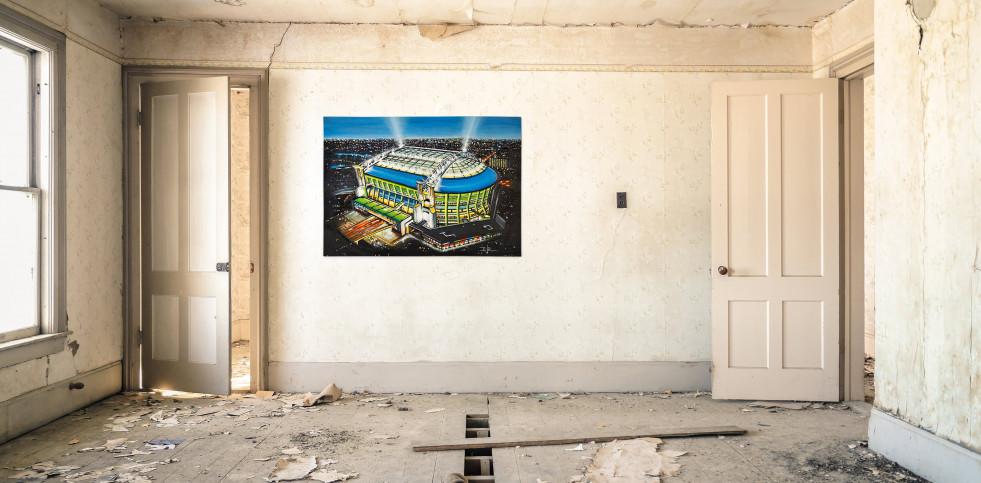 Stadia Art: Amsterdam Arena - Poster bestellen - 11FREUNDE SHOP