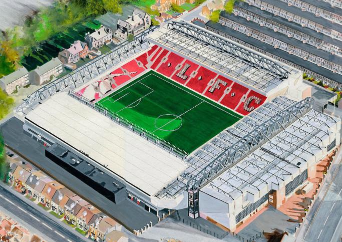 Stadia Art: Anfield (1) - Poster bestellen - 11FREUNDE SHOP