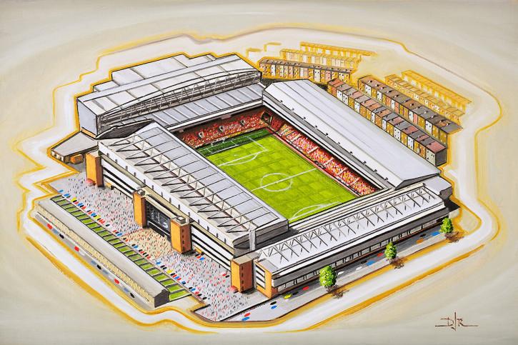 Stadia Art: Anfield (2) - Poster bestellen - 11FREUNDE SHOP