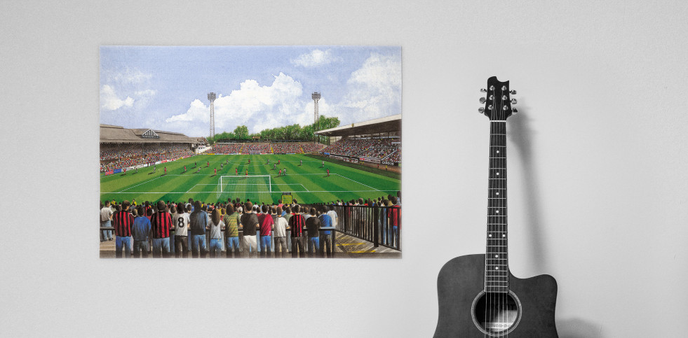 Stadia Art: Craven Cottage (inside) - Poster bestellen - 11FREUNDE SHOP
