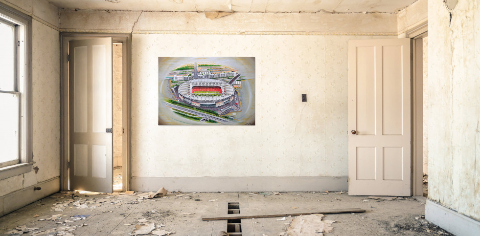 Stadia Art: Emirates Stadium (2) - Poster bestellen - 11FREUNDE SHOP