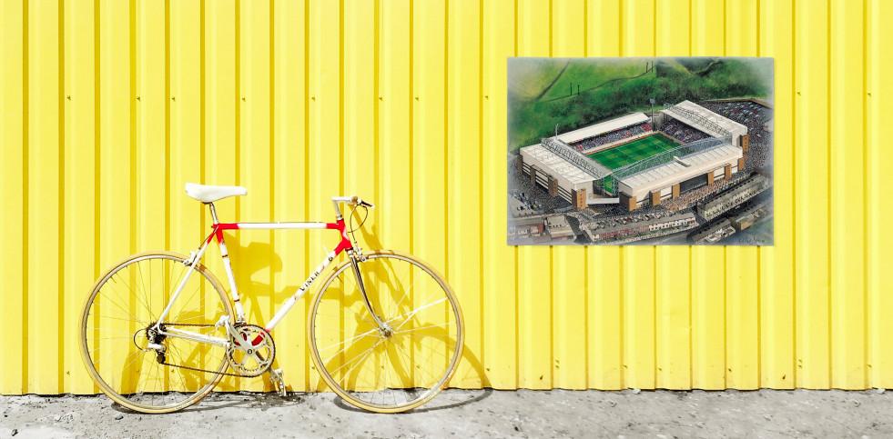 Stadia Art: Ewood Park - Poster bestellen - 11FREUNDE SHOP