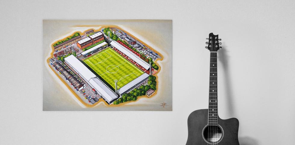 Stadia Art: Griffin Park (1) - Poster bestellen - 11FREUNDE SHOP