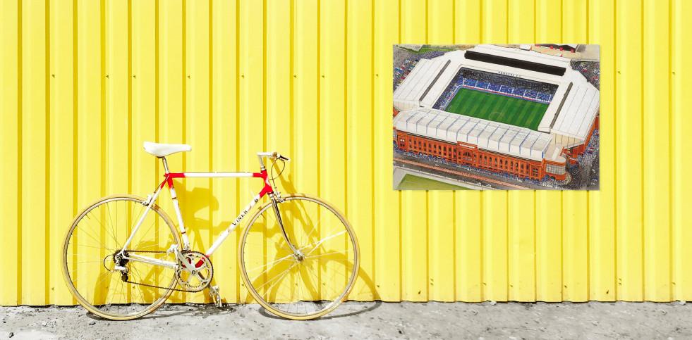 Stadia Art: Ibrox - Poster bestellen - 11FREUNDE SHOP