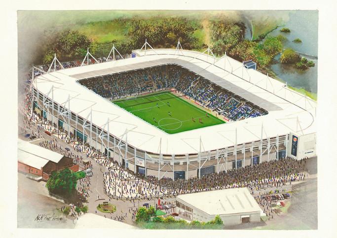 Stadia Art: King Power Stadium - Poster bestellen - 11FREUNDE SHOP