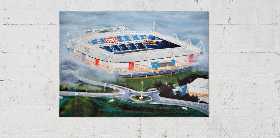 Stadia Art: Madejski Stadium - Poster bestellen - 11FREUNDE SHOP