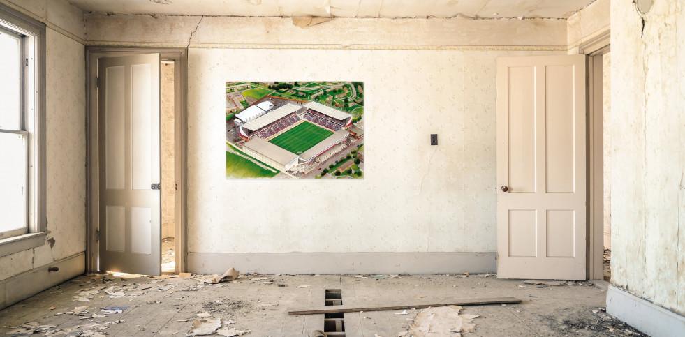 Stadia Art: Turf Moor - Poster bestellen - 11FREUNDE SHOP