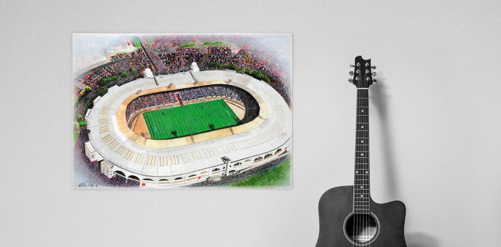 Stadia Art: Wembley (2) - Poster bestellen - 11FREUNDE SHOP