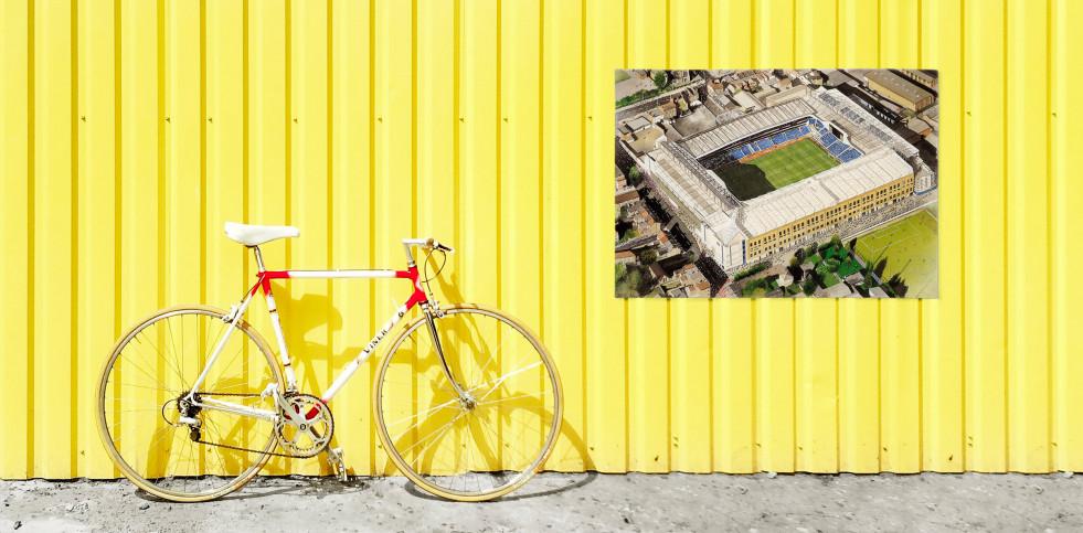 Stadia Art: White Hart Lane (2) - Poster bestellen - 11FREUNDE SHOP